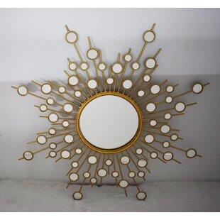 Brayden Studio Engelhardt Starburst Accent Mirror