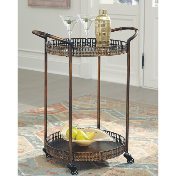 Rockmart Bar Cart by Astoria Grand