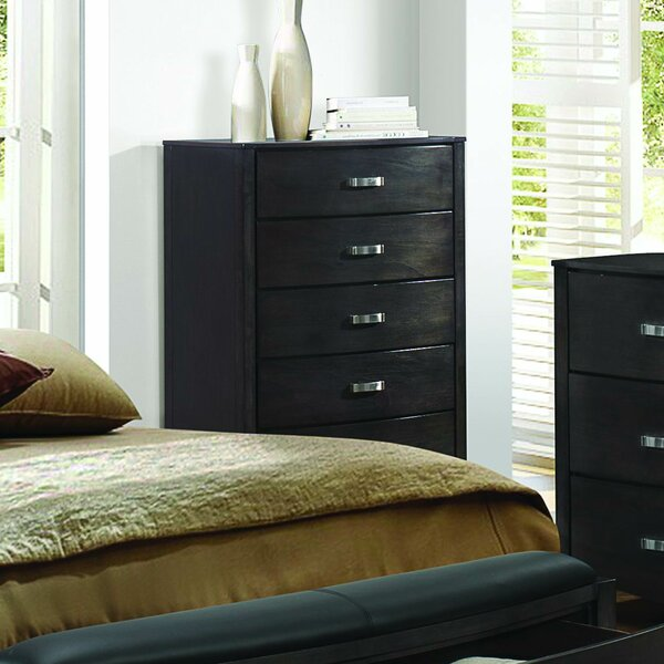 Laurelwood 5 Drawer Chest by Latitude Run