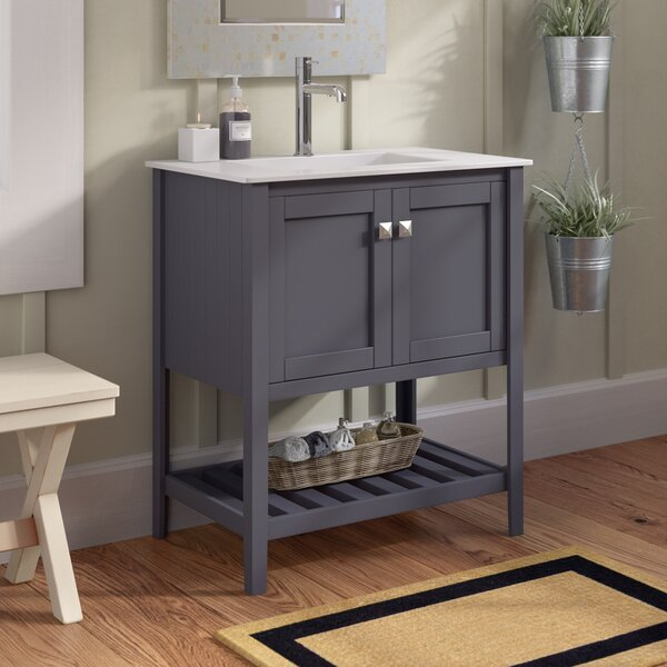 Dutcher 30 Single Bathroom Vanity Set by Rosecliff Heights