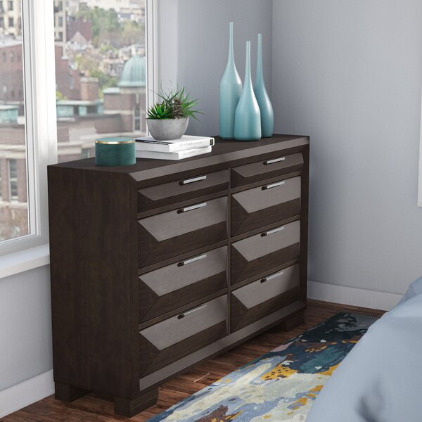 Richburg 8 Drawer Double Dresser by Latitude Run