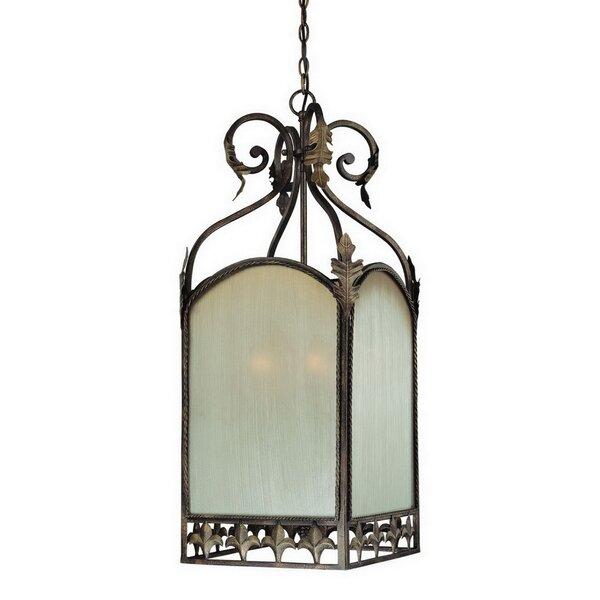Ranchester 6 - Light Lantern Square Chandelier by Fleur De Lis Living Fleur De Lis Living