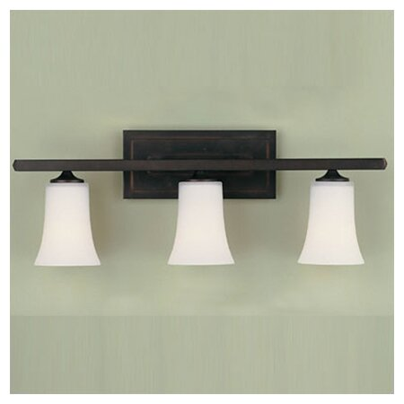 Boulevard 3-Light Vanity Light by Feiss