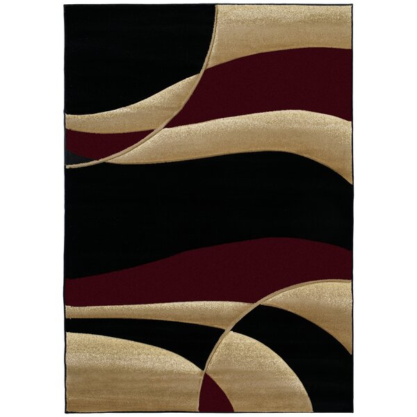 Havana Burgundy Area Rug by Zipcode Design