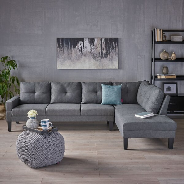 Order Online Elodia Right Hand Facing Sectional by Latitude Run by Latitude Run