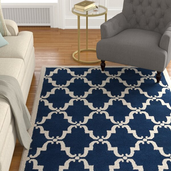 Thurman Moroccan Hand Woven Rug by Darby Home Co