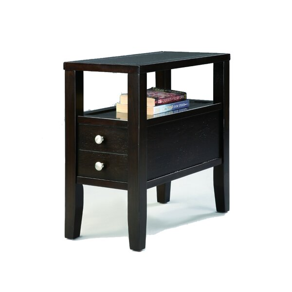 Siddiqi End Table With Storage By Red Barrel Studio