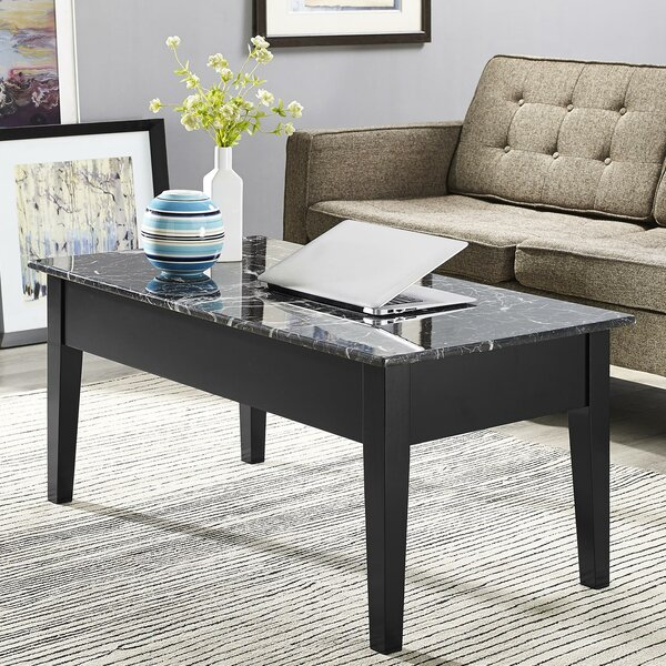 Carterville Lift Top Coffee Table with Storage by