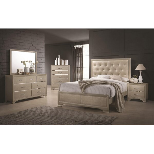 Cirebon Upholstered Standard Configurable Bedroom Set by House of Hampton