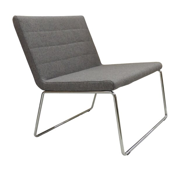Flu Camira Wool Lounge Chair by B&T Design