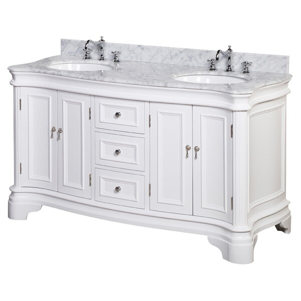 Katherine 60 Double Bathroom Vanity Set by Kitchen Bath Collection