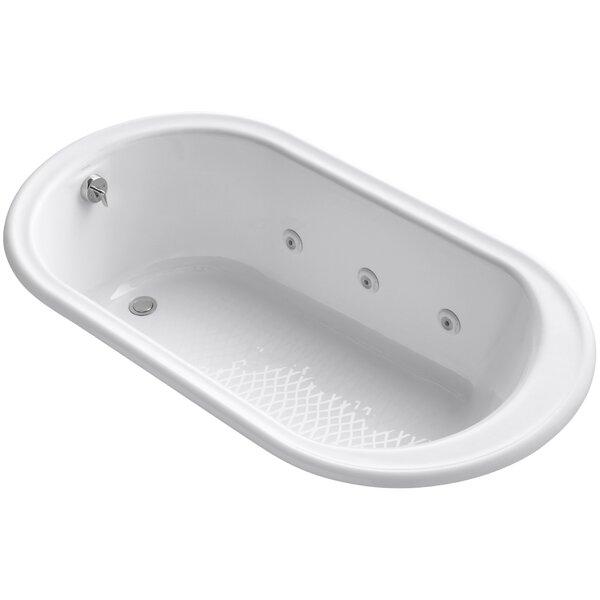 Iron Works 66 x 36 Whirlpool Bathtub by Kohler