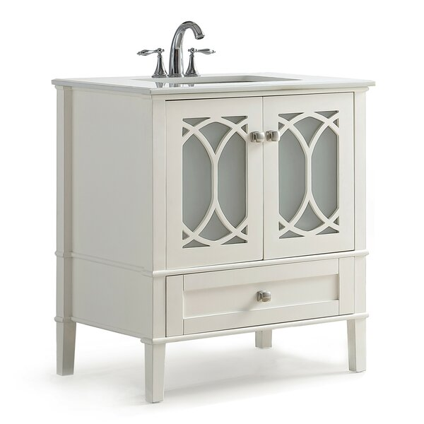 Paige 31 Single Bathroom Vanity Set by Simpli Home
