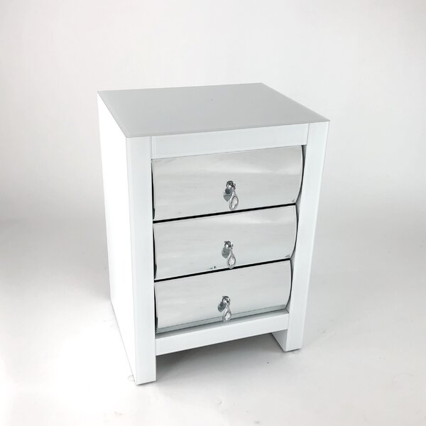 Neelyvilled 3 Drawer Nightstand by Rosdorf Park