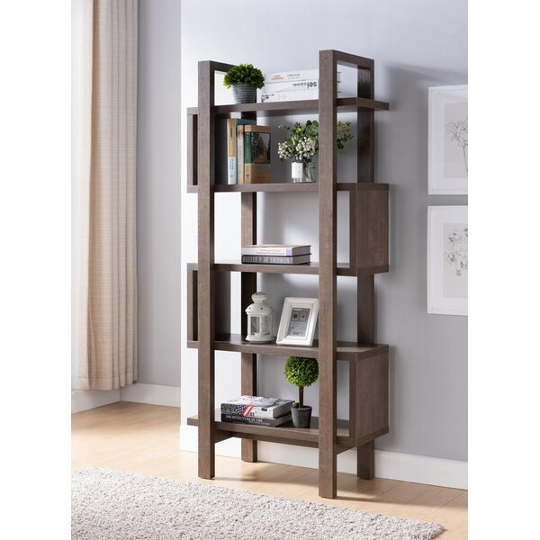 Christeen Puzzle Geometric Bookcase By Wrought Studio