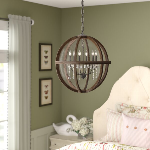Filipe 3 - Light Candle Style Globe Chandelier By Birch Lane™ Heritage