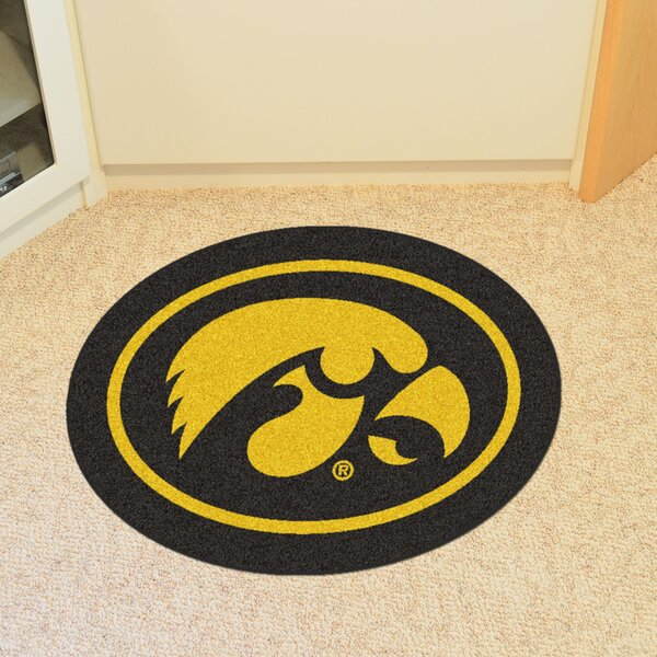 NCAA University of Iowa Mascot Mat by FANMATS