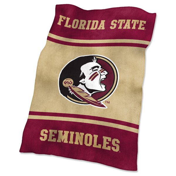 Florida State Ultra Soft Throw by Logo Brands