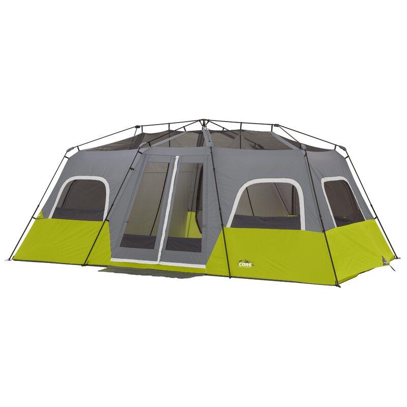 12 Person Instant Cabin Tent  sc 1 st  Wayfair & CoreEquipment 12 Person Instant Cabin Tent u0026 Reviews | Wayfair