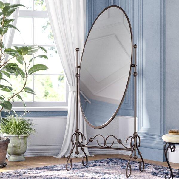 Hannah Mirror in Antique Bronze by Fleur De Lis Living