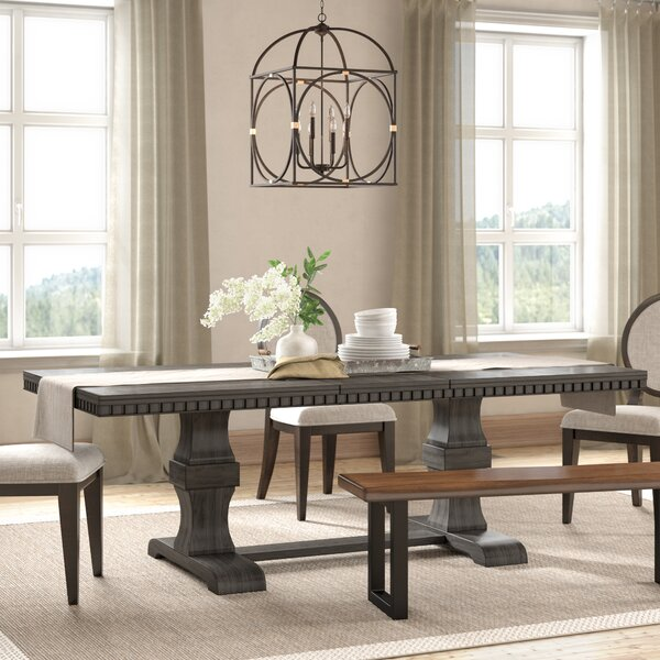 Best #1 Suzann Extendable Dining Table By Laurel Foundry Modern Farmhouse Today Only Sale