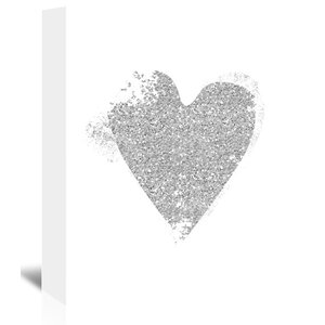 Heart 5 Graphic Art on Wrapped Canvas by East Urban Home