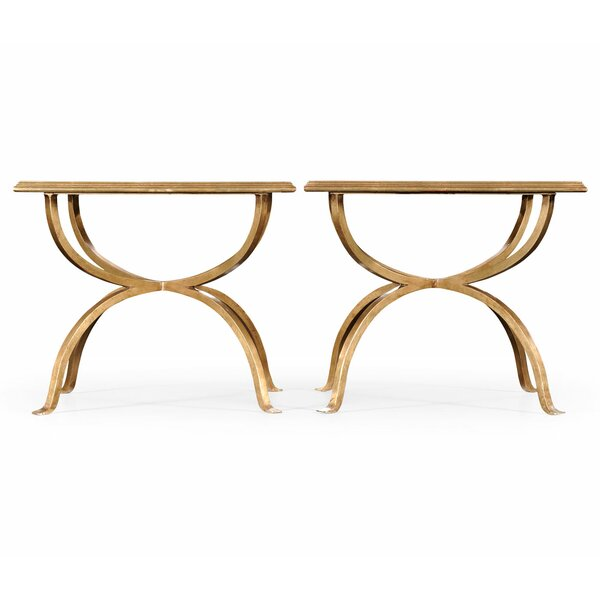 Luxe 2 Bunching Tables (Set Of 2) By Jonathan Charles Fine Furniture