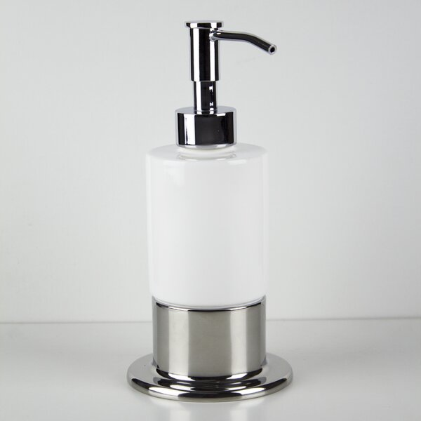 Inox Table Soap Dispenser by Hispania Home