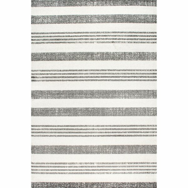 Hayley Gray/Ivory Area Rug by Latitude Run