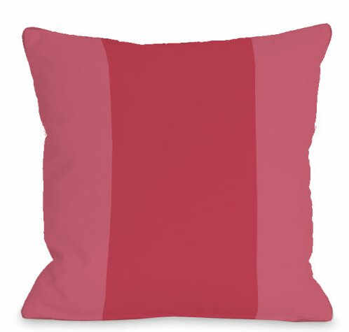 Block Outdoor Throw Pillow by One Bella Casa