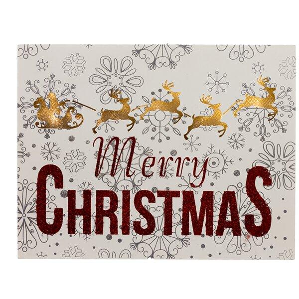 Merry Christmas Light Box Luminary by The Holiday Aisle