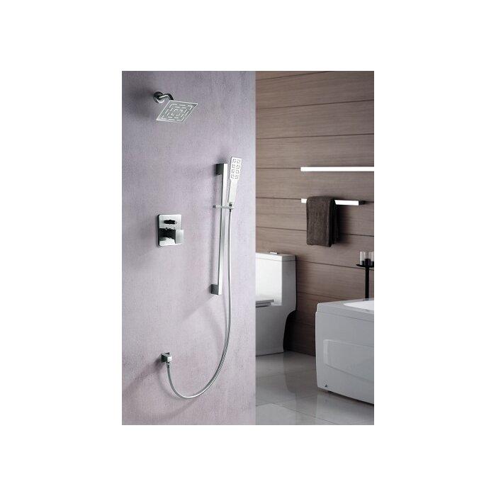 Dawn USA Acadia Rain Shower Head Complete Shower System & Reviews ...