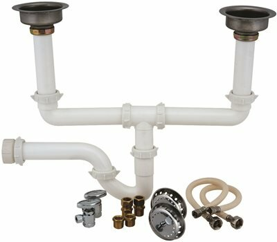 Garbage Double Bowl Disposal Installation Kit by ProPlus