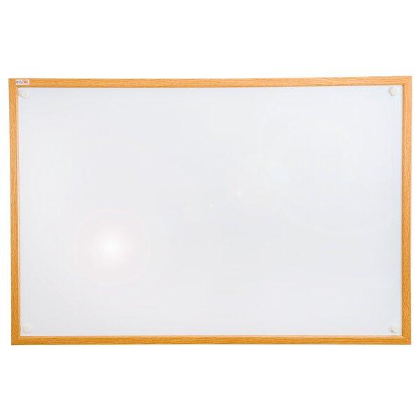 Viztex Wall Mounted Whiteboard by Floortex