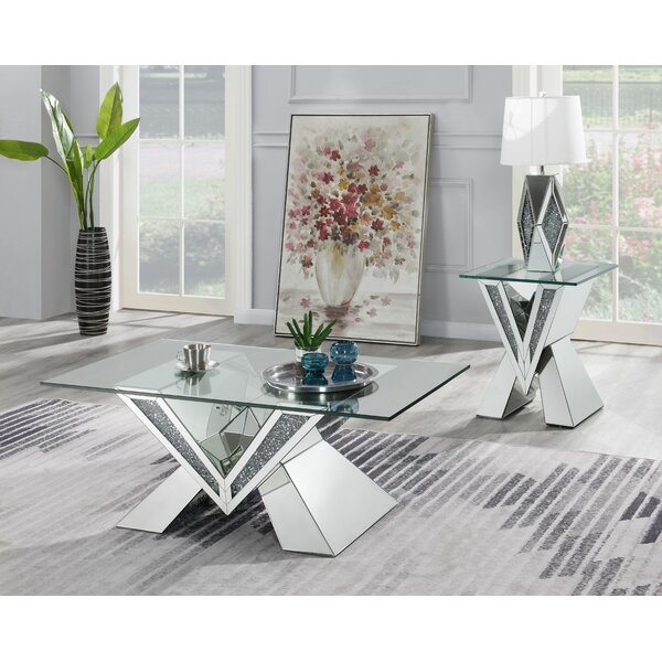 Thompkins 2 Piece Coffee Table Set By Everly Quinn
