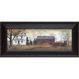 Pumpkins for Sale by Jacobs, Billy Framed Painting Print by Artistic Reflections