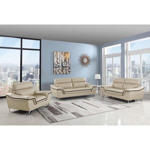 Matheny Upholstery 3 Piece Living Room Set By Orren Ellis