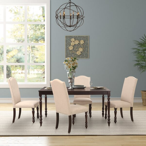 Spradlin 5 Piece Dining Set by Charlton Home