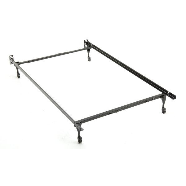 Caster Legs Bed Frame by Symple Stuff
