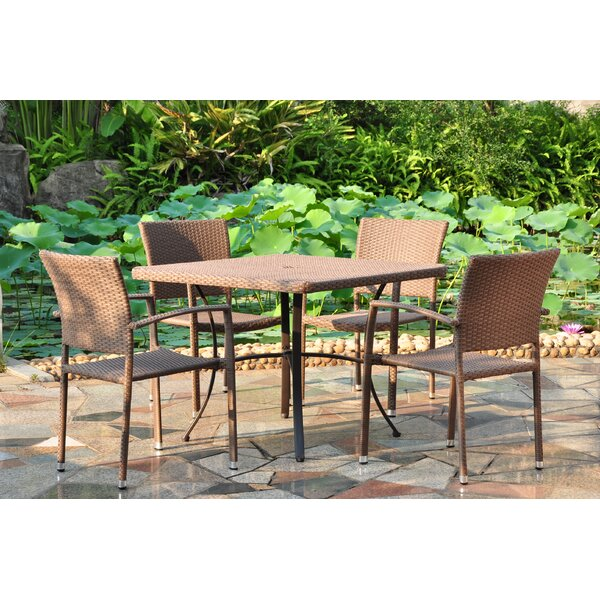 Katzer 5 Piece Dining Set by Brayden Studio