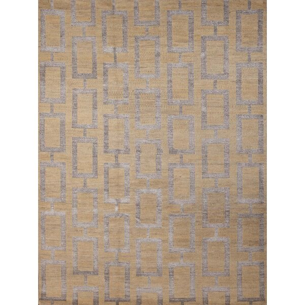 Defino Gold Area Rug by Mercer41