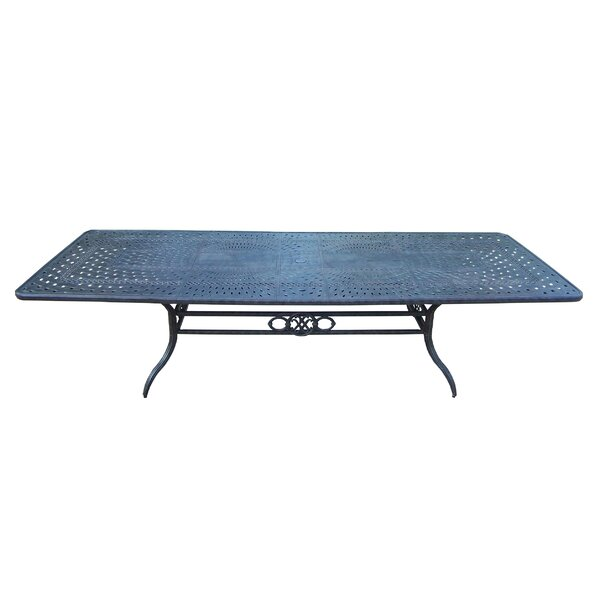 Vandyne Extendable Metal Dining Table by Darby Home Co