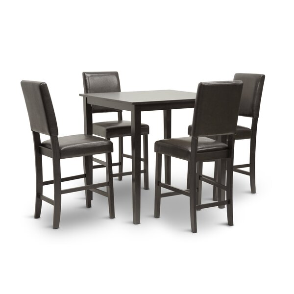 Carnegie 5 Piece Dining Set by Red Barrel Studio