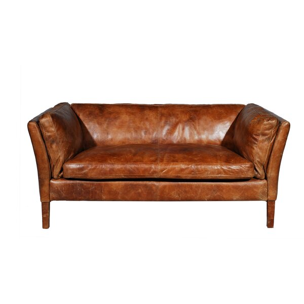 Reggio Leather Sofa by E9-Halo