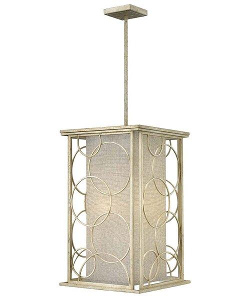 Flourish 6-Light Square/Rectangle Chandelier by Hinkley Lighting
