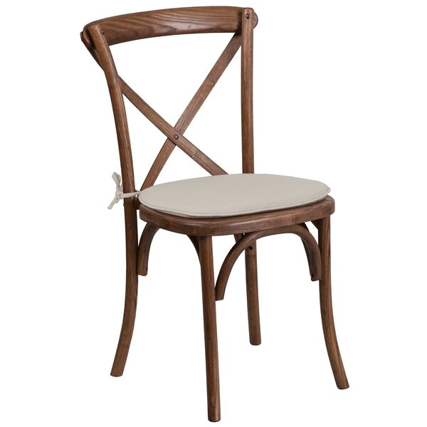 Norma Upholstered Wood Dining Chair by Mistana