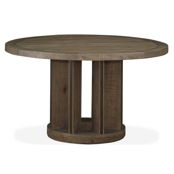 Norah Solid Wood Dining Table by Foundry Select