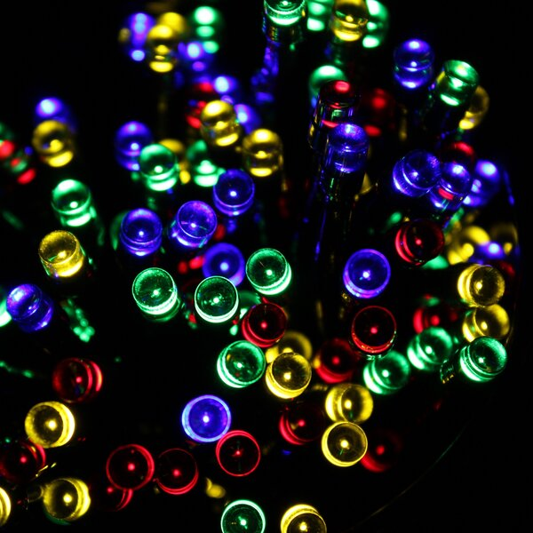 100-Solar Light 39.8 ft. String Lights by Touch of ECO