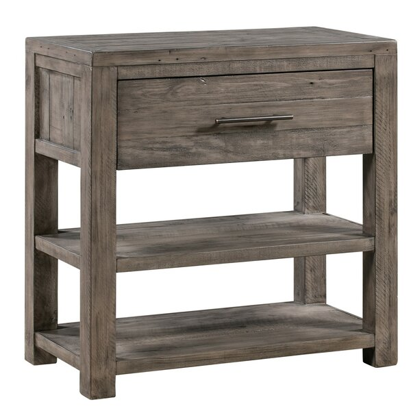 Pomona Distressed Recycled Pine 1 Drawer Accent Chest