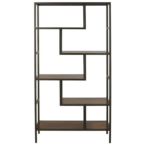 Hada Asymmetric Design Library Bookcase By Latitude Run